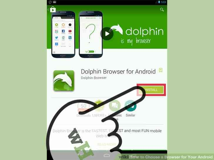 Imagen titulada Elegir un Navegador para Tu Android el Paso 8