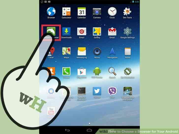 Imagen titulada Elegir un Navegador para Tu Android el Paso 9