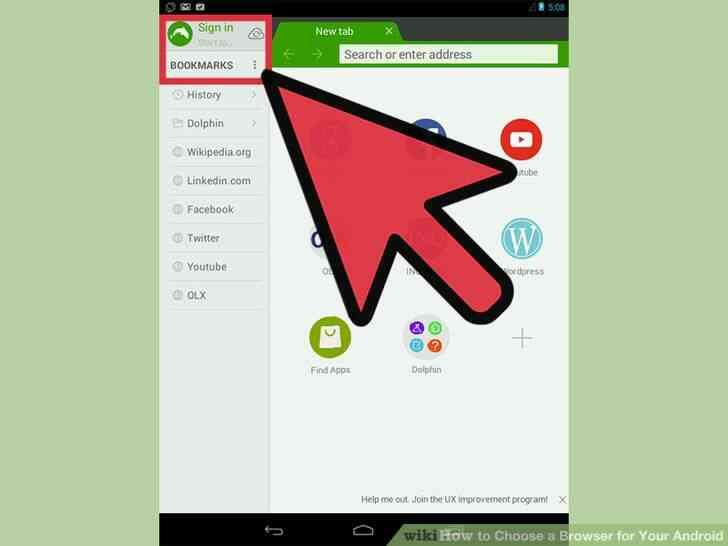 Imagen titulada Elegir un Navegador para Tu Android el Paso 11