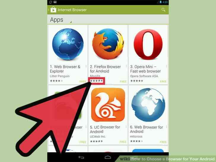Imagen titulada Elegir un Navegador para Tu Android el Paso 4