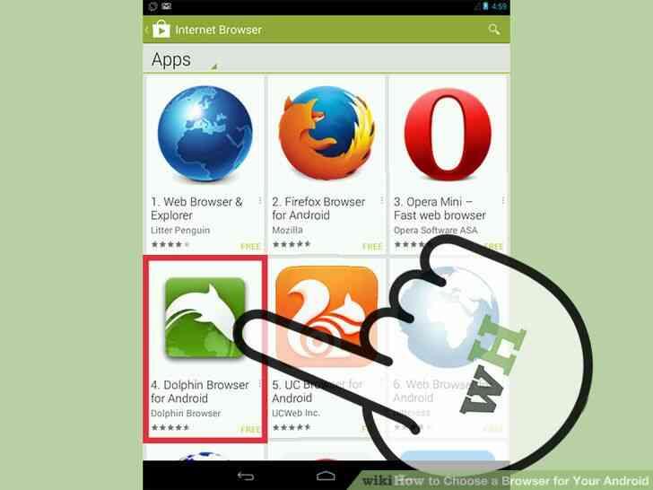 Imagen titulada Elegir un Navegador para Tu Android el Paso 5