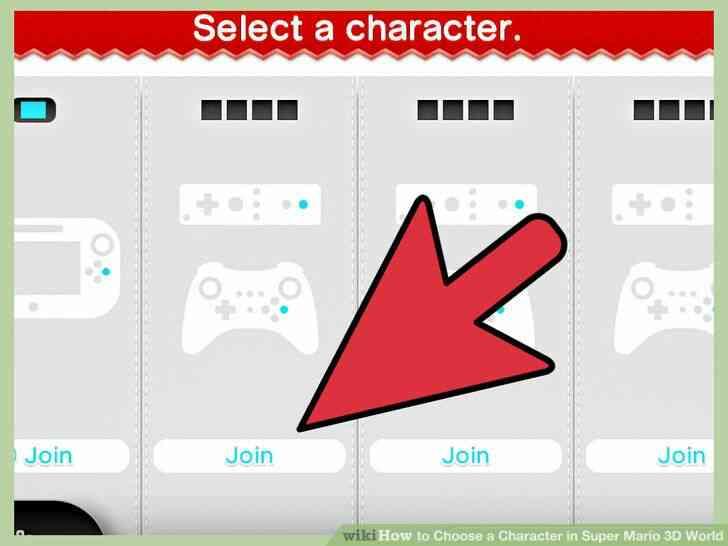 Imagen titulada Elegir un Personaje en Super Mario 3D World el Paso 4
