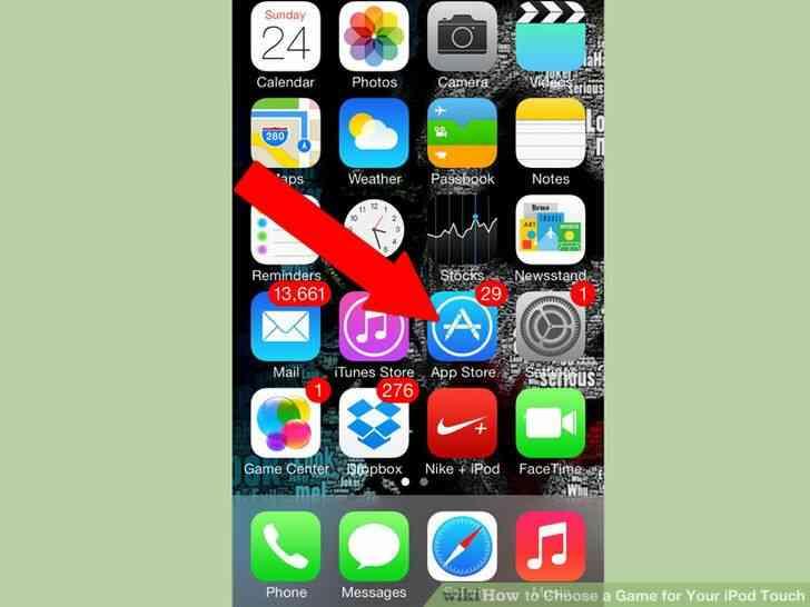 Imagen titulada Elegir un Juego para el iPod Touch Paso 1