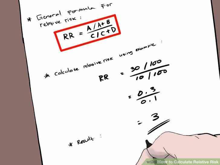 Imagen titulada Calcular el Riesgo Relativo Paso 2