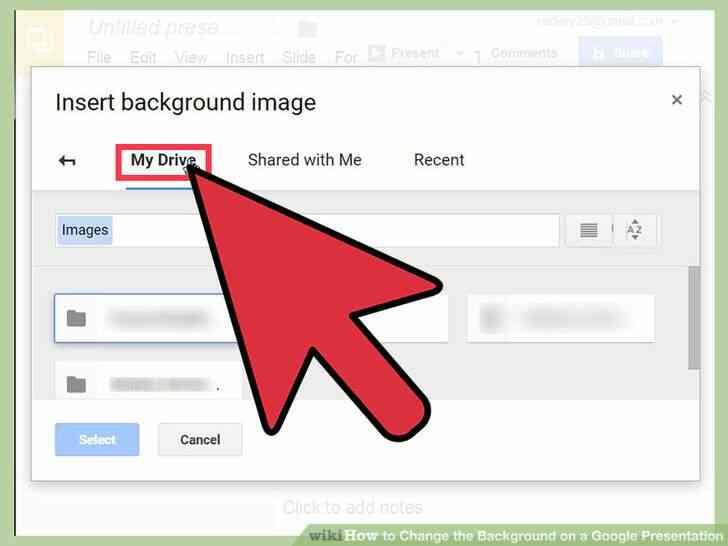 Imagen titulada Cambiar el Fondo de una Presentación de Google Paso 19