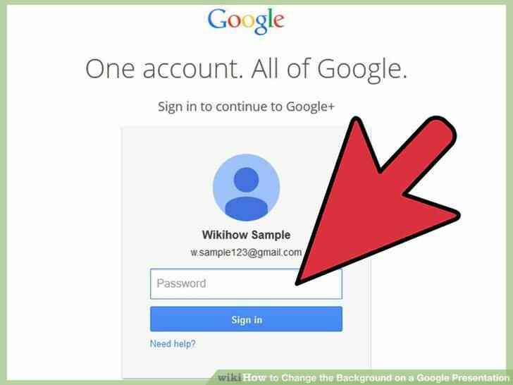 Imagen titulada Cambiar el Fondo de una Presentación de Google Paso 3