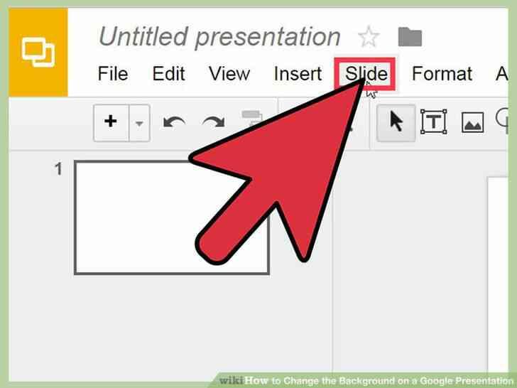 Imagen titulada Cambiar el Fondo de una Presentación de Google Paso 5