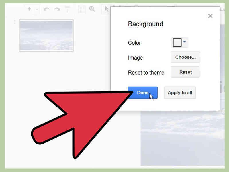 Cómo Cambiar el Fondo en una Presentación de Google