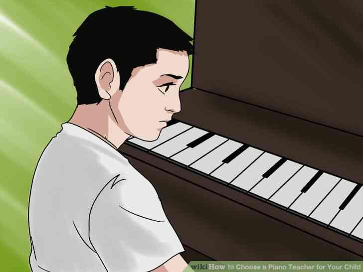 Imagen titulada Elegir un Profesor de Piano para Su Hijo Paso 7