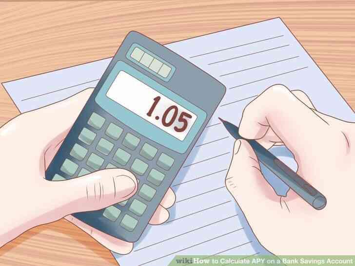 Imagen titulada Calcular el porcentaje anual de rendimiento sobre una Cuenta de Ahorros Bancaria Paso 2