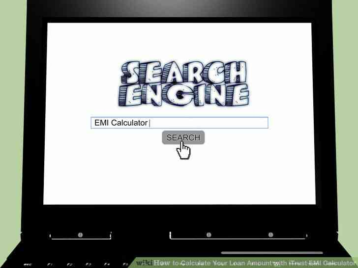 Imagen titulada Calcular la Cantidad de Su Préstamo con iTrust EMI Calculadora de Paso de 1