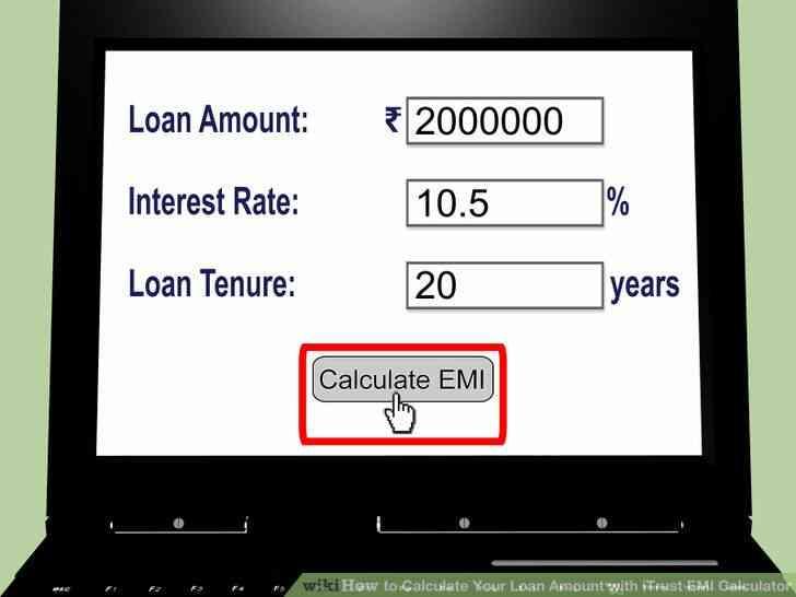 Imagen titulada Calcular la Cantidad de Su Préstamo con iTrust EMI Calculator Paso 5