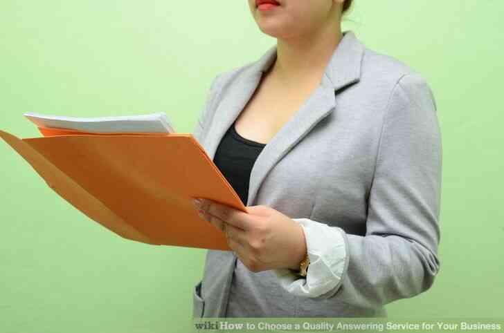 Imagen titulada Elegir una Calidad de Servicio de Contestador para Su Negocio Paso 8
