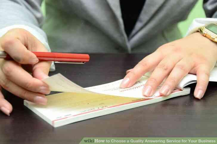 Imagen titulada Elegir una Calidad de Servicio de Contestador para Su Negocio Paso 9
