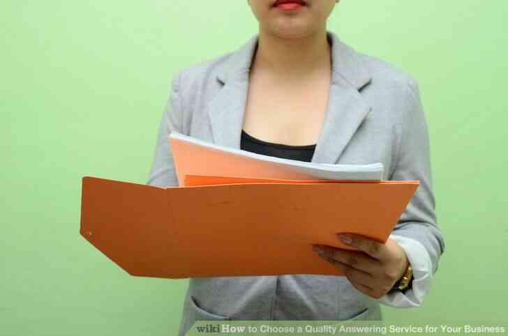Imagen titulada Elegir una Calidad de Servicio de Contestador para Su Negocio en el Paso 3