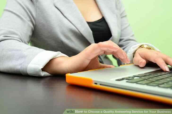 Imagen titulada Elegir una Calidad de Servicio de Contestador para Su Negocio Paso 4