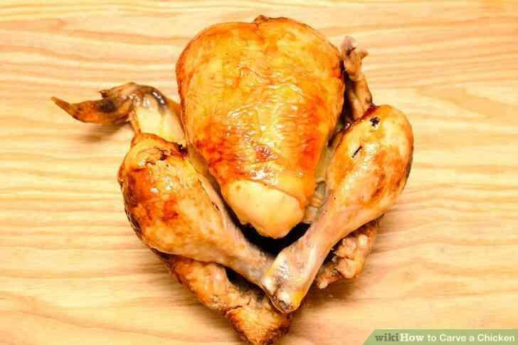 Imagen titulada Trinchar un Pollo Paso 1
