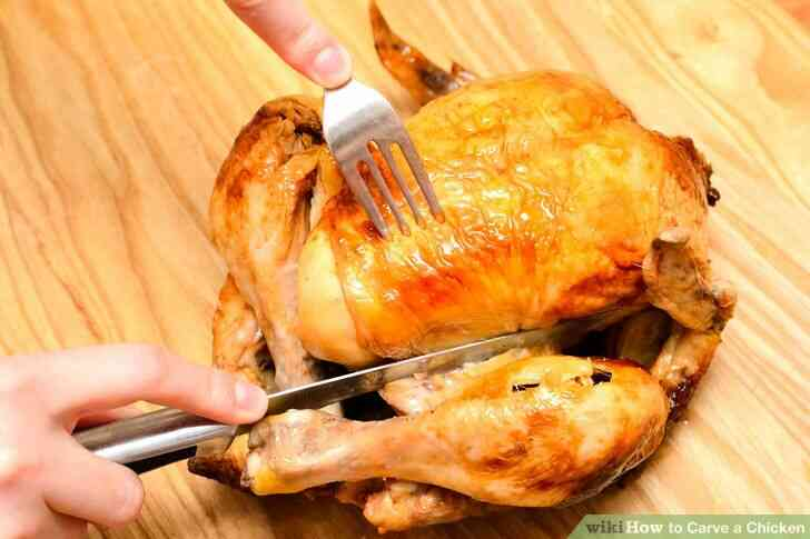 Imagen titulada Trinchar un Pollo Paso 2
