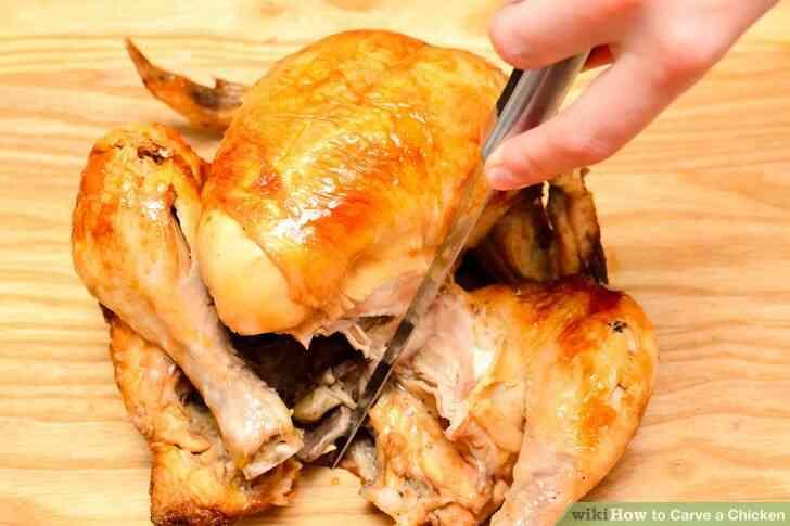 Imagen titulada Trinchar un Pollo Paso 3