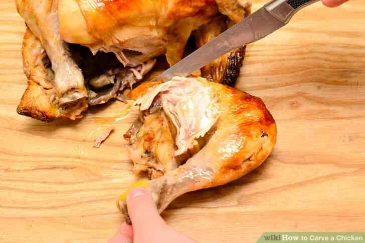 Imagen titulada Trinchar un Pollo Paso 4