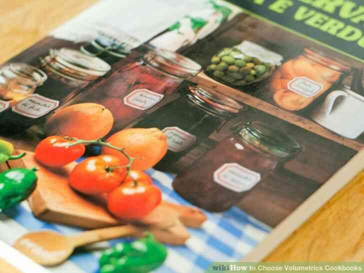 Imagen titulada Elegir Volumétrica Libros de cocina Paso 1