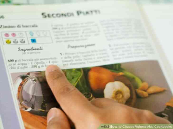 Imagen titulada Elegir Volumétrica Libros de cocina Paso 10