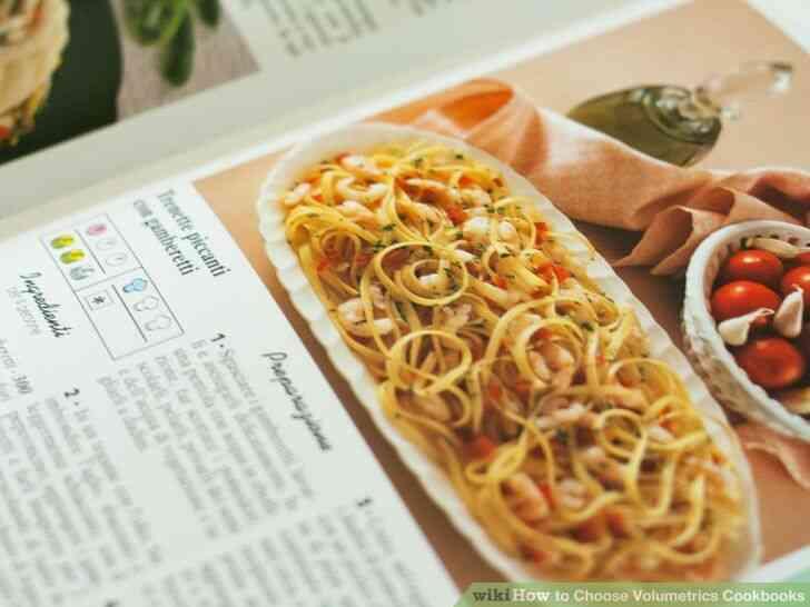 Imagen titulada Elegir Volumétrica Libros de cocina Paso 5