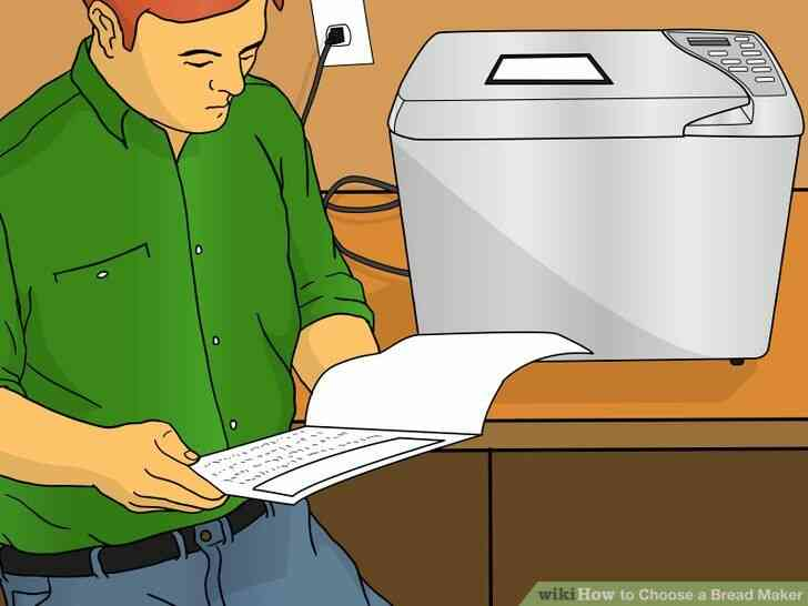 Imagen titulada Elegir un Fabricante de Pan Paso 5