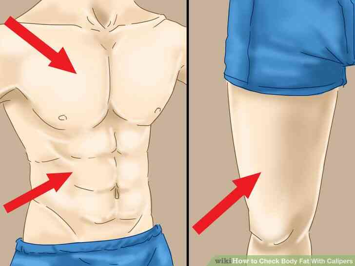 Imagen titulada Verificación de las Grasas de Cuerpo Con Pinzas de Paso de 1