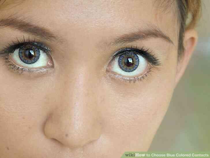 Imagen titulada Elegir el Color Azul de los Contactos de Paso 4