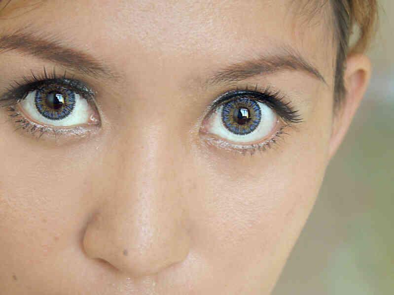 Cómo Elegir el Color Azul de Contactos