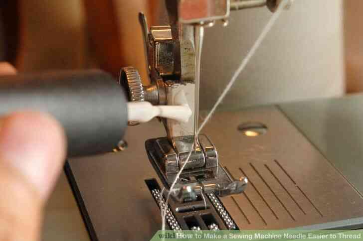 Cómo Hacer una Máquina de Coser Aguja más Fácil Hilo