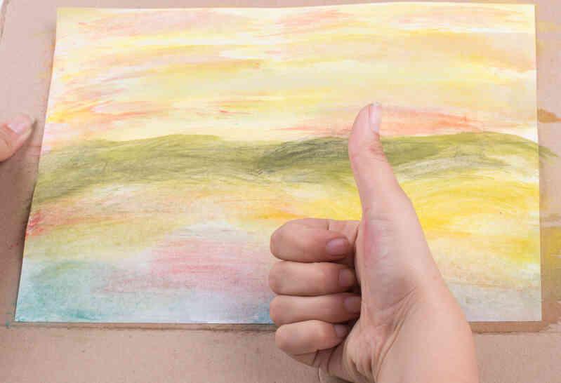 Comment peindre un coucher de soleil avec des aquarelles