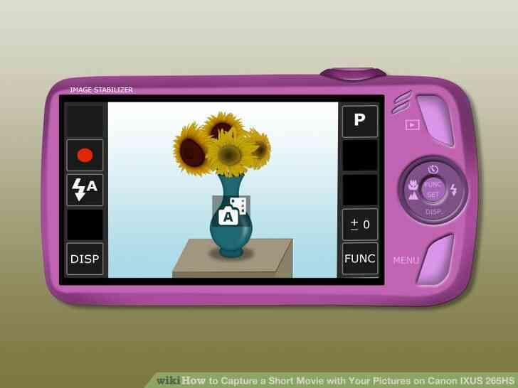 Imagen titulada la Captura de un Corto de la Película con Tus Fotos Canon IXUS 265HS Paso 5