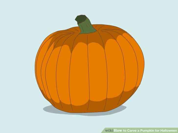 Imagen titulada Tallar una Calabaza para Halloween Paso 1