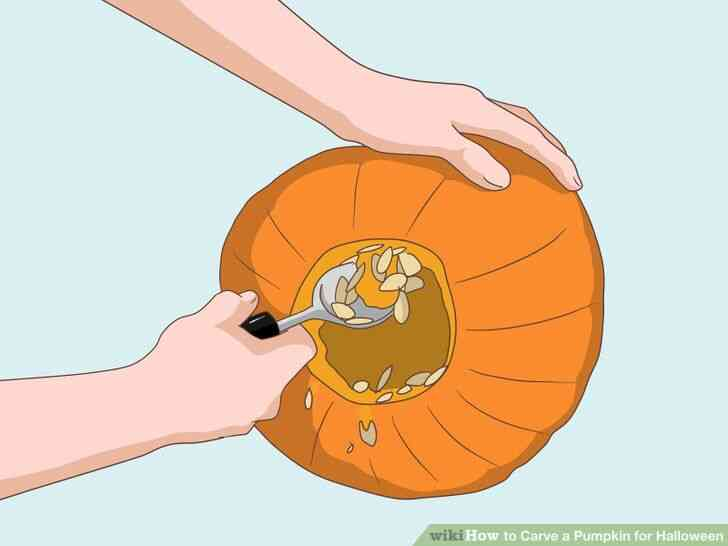 Imagen titulada Tallar una Calabaza para Halloween Paso 3