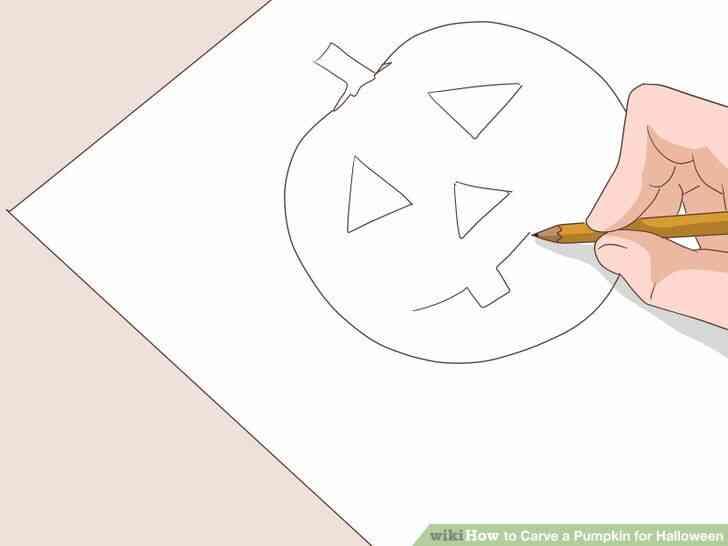 Imagen titulada Tallar una Calabaza para Halloween Paso 4