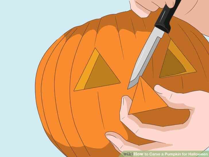 Imagen titulada Tallar una Calabaza para Halloween Paso 5