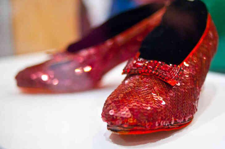 Imagen titulada Rojo Rubí Zapatillas
