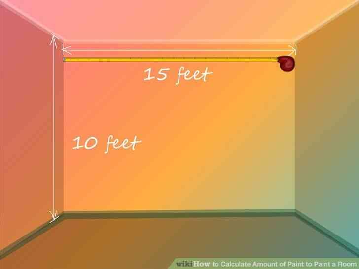 Imagen titulada Calcular la Cantidad de Pintura para pintar una Habitación Paso 1