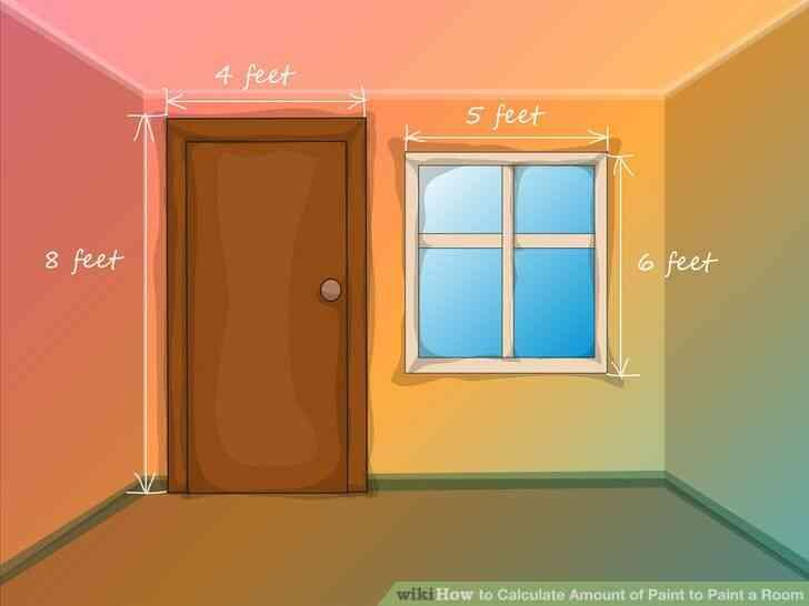 Imagen titulada Calcular la Cantidad de Pintura para pintar una Habitación Paso 4