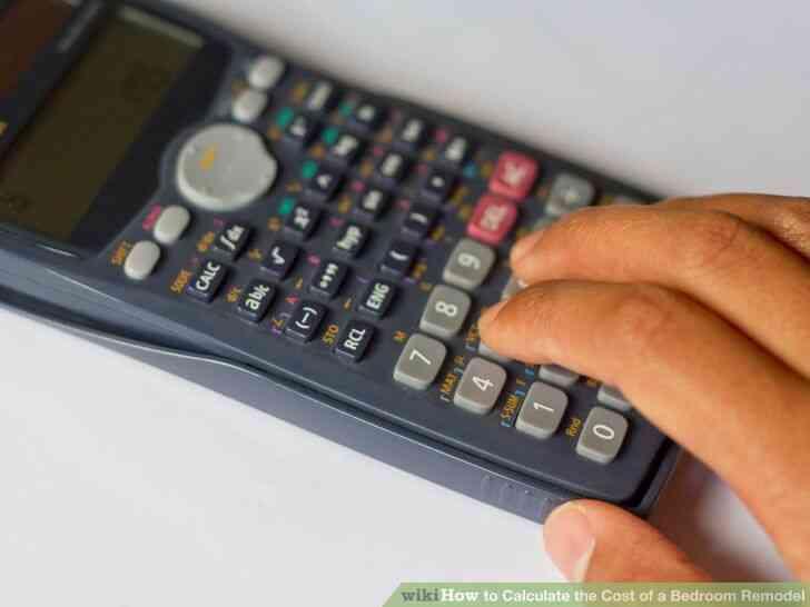 Imagen titulada Calcular el Costo de un Dormitorio Remodelación de Step 7