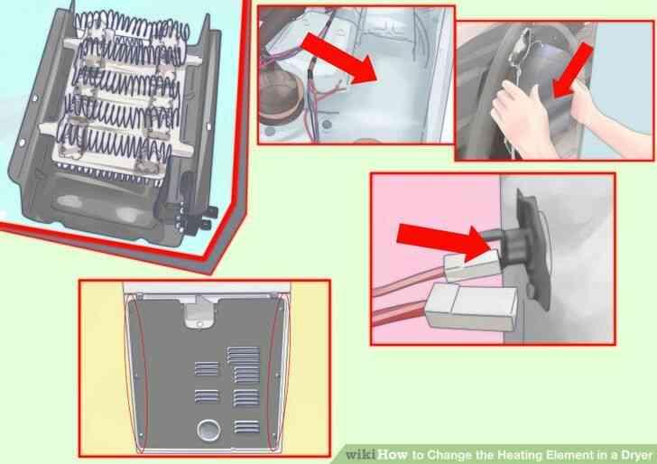 Imagen titulada Cambiar el Elemento de Calefacción en una Secadora Paso 8