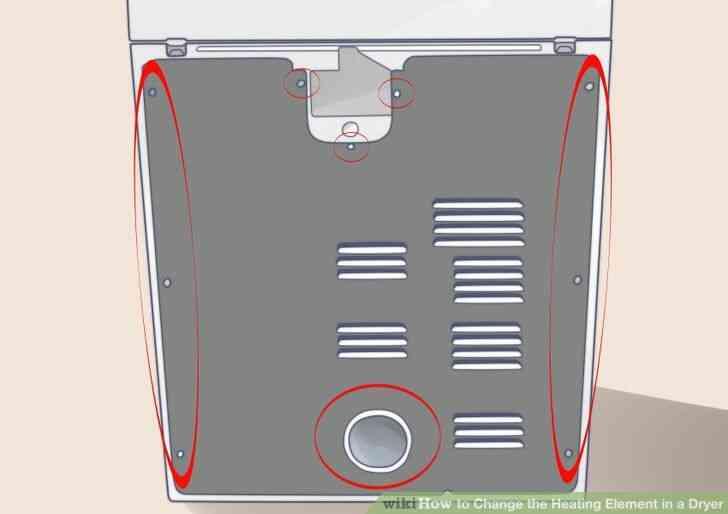 Imagen titulada Cambiar el Elemento de Calefacción en una Secadora de Paso 2