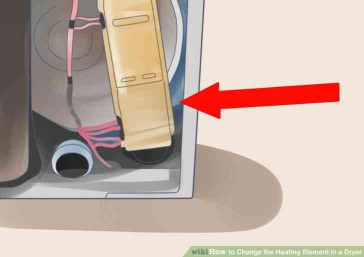 Imagen titulada Cambiar el Elemento de Calefacción en una Secadora Paso 3