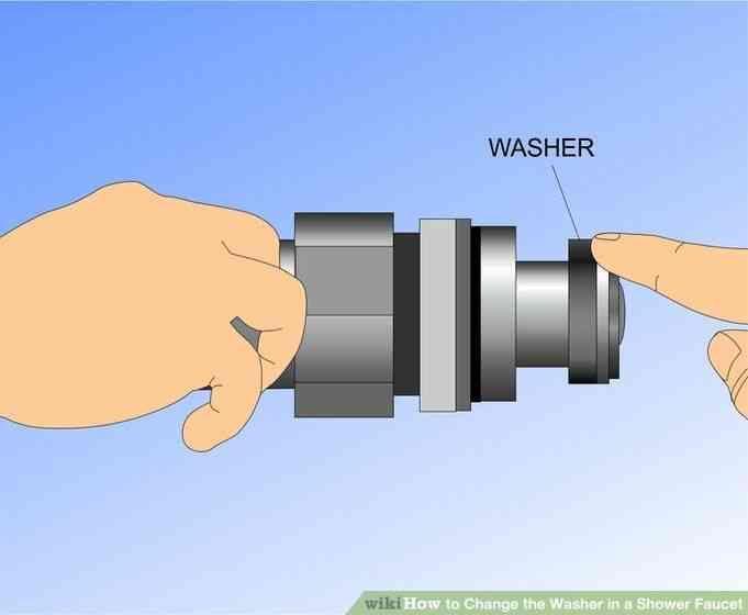 Imagen titulada Cambiar la Lavadora en un Grifo de la Ducha Paso 10
