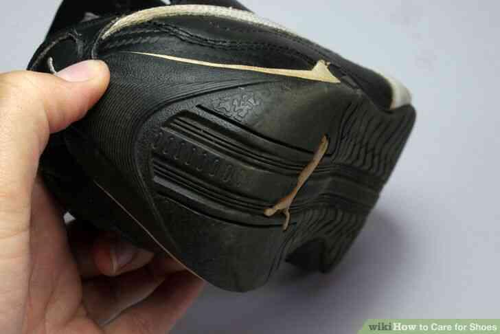 Imagen titulada el Cuidado de Zapatos de Paso de 6