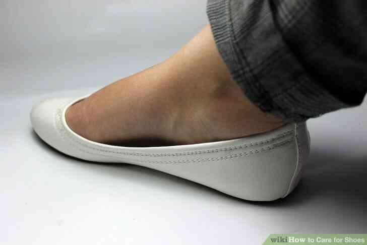 Imagen titulada el Cuidado de Zapatos de Paso de 5