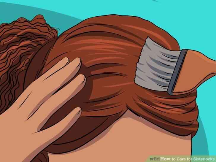 Imagen titulada Cuidado para Sisterlocks Paso 19