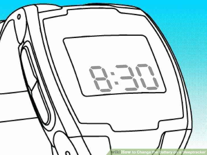 Imagen titulada Cambio de la Batería en un Sleeptracker Paso 1